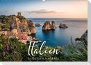 Italien - Eine Reise durch das traumhafte Italien. (Wandkalender 2021 DIN A2 quer)