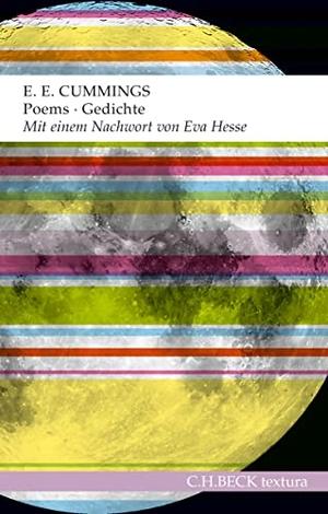Eva Hesse / Edward Estlin Cummings. Poems - Gedichte. C.H.Beck, 2016.