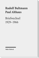 Briefwechsel 1929-1966