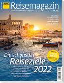 ADAC Reisemagazin 12/21 mit Titelthema Top Reisethemen 2022