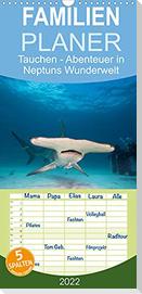 Tauchen - Abenteuer in Neptuns Wunderwelt (Wandkalender 2022 , 21 cm x 45 cm, hoch)