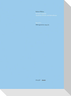 Kritische Robert Walser-Ausgabe (KWA) Kritische Ausgabe sämtlicher Drucke und Manuskripte / Mikrogramme 1924/1925