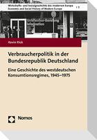Verbraucherpolitik in der Bundesrepublik Deutschland