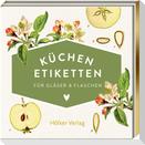 Küchen-Etiketten für Gläser & Flaschen (Äpfel, Küchenpapeterie)
