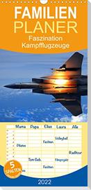 Faszination Kampfflugzeuge  - Familienplaner hoch (Wandkalender 2022 , 21 cm x 45 cm, hoch)