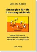 Strategien für die Chancengleichheit