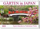 Gärten in Japan (Tischkalender 2022 DIN A5 quer)