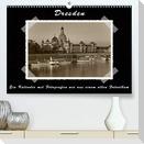 Dresden - Ein Kalender mit Fotografien wie aus einem alten Fotoalbum (Premium, hochwertiger DIN A2 Wandkalender 2021, Kunstdruck in Hochglanz)