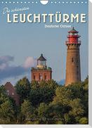 Die schönsten Leuchttürme - Deutsche Ostsee (Wandkalender 2022 DIN A4 hoch)