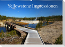 Yellowstone Impressionen (Wandkalender 2022 DIN A2 quer)