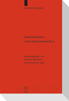 Namenstudien zum Altgermanischen