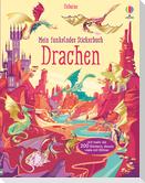 Mein funkelndes Stickerbuch: Drachen