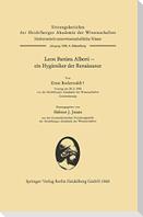 Leon Battista Alberti - ein Hygieniker der Renaissance