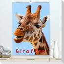 Giraffen (Premium, hochwertiger DIN A2 Wandkalender 2022, Kunstdruck in Hochglanz)