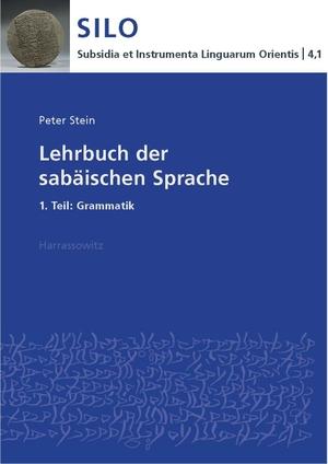 Stein, Peter. Lehrbuch der sabäischen Sprache 1.