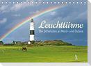 Leuchttürme: Die Schönsten an Nord- und Ostsee (Tischkalender 2022 DIN A5 quer)