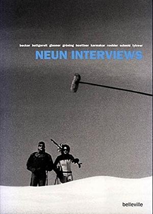 Steffen Schäffler. Neun Interviews. belleville, 2002.