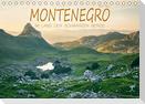 Montenegro - Im Land der schwarzen Berge (Tischkalender 2021 DIN A5 quer)