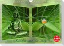 Buddha und Yin Yang (Wandkalender 2022 DIN A4 quer)