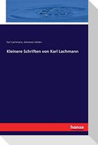 Kleinere Schriften von Karl Lachmann