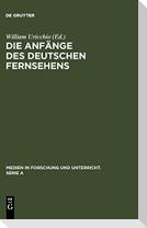 Die Anfänge des Deutschen Fernsehens