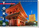Tokio: Lichter einer Stadt (Tischkalender 2022 DIN A5 quer)