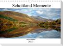 Schottland Momente (Wandkalender 2022 DIN A4 quer)