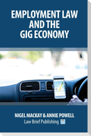 Employment Law and the Gig Economy