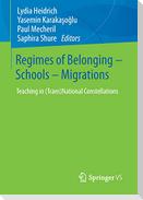 Regimes of Belonging - Schools - Migrations