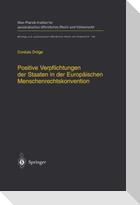 Positive Verpflichtungen der Staaten in der Europäischen Menschenrechtskonvention