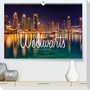 Weltwärts - Eine Städtereise (Premium, hochwertiger DIN A2 Wandkalender 2021, Kunstdruck in Hochglanz)