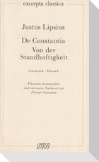 De Constantia. Von der Standhaftigkeit