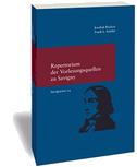 Savignyana / Repertorium der Vorlesungsquellen zu Friedrich Carl von Savigny
