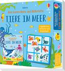 Mein buntes Memo und Bilderlotto: Tiere im Meer