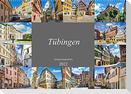 Tübingen Stadtansichten (Wandkalender 2022 DIN A2 quer)
