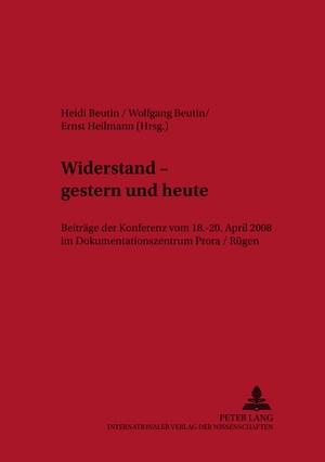 Beutin, Heidi / Wolfgang Beutin et al (Hrsg.). Wid
