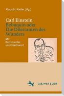 Carl Einstein: Bebuquin oder Die Dilettanten des Wunders