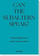 Gayatri Chakravorty Spivak, 'Can the Subaltern Speak?' 1985, Estefania Peñafiel Loaiza Two Works Series