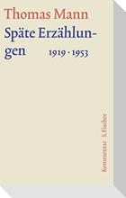 Späte Erzählungen 1919-1953