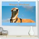 Witziger Windhund - Portugiesischer Galgo (Premium, hochwertiger DIN A2 Wandkalender 2022, Kunstdruck in Hochglanz)