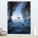 Baikalsee- kuriose Eiswelt (Premium, hochwertiger DIN A2 Wandkalender 2021, Kunstdruck in Hochglanz)