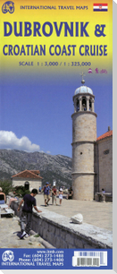 Dubrovnik& Croatian Coast 1:300 000