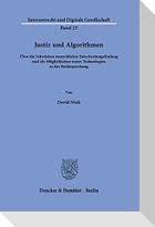 Justiz und Algorithmen.