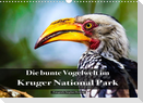 Die bunte Vogelwelt im Kruger National Park (Wandkalender 2022 DIN A3 quer)
