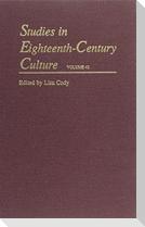 Studies in Eighteenth-Century Culture
