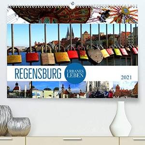 Bleicher, Renate. REGENSBURG - urbanes Leben (Prem
