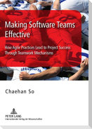 Making Software Teams Effective