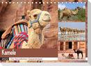 Kamele - Die freundlichen Gepäckträger (Tischkalender 2022 DIN A5 quer)