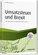 Umsatzsteuer und Brexit - inkl. Arbeitshilfen online