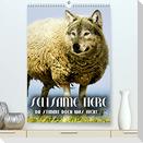 Seltsame Tiere - da stimmt doch was nicht... (Premium, hochwertiger DIN A2 Wandkalender 2022, Kunstdruck in Hochglanz)
